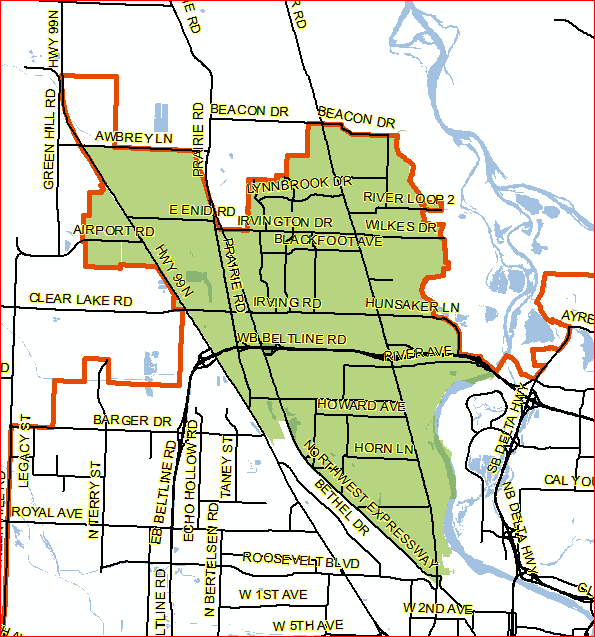 Annexation Area Map